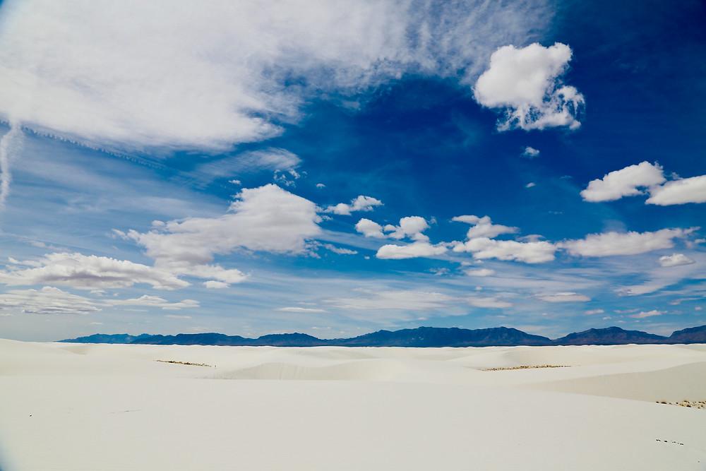 white sands national park, white sands, desert, white, sand, spring, travel, New Mexico