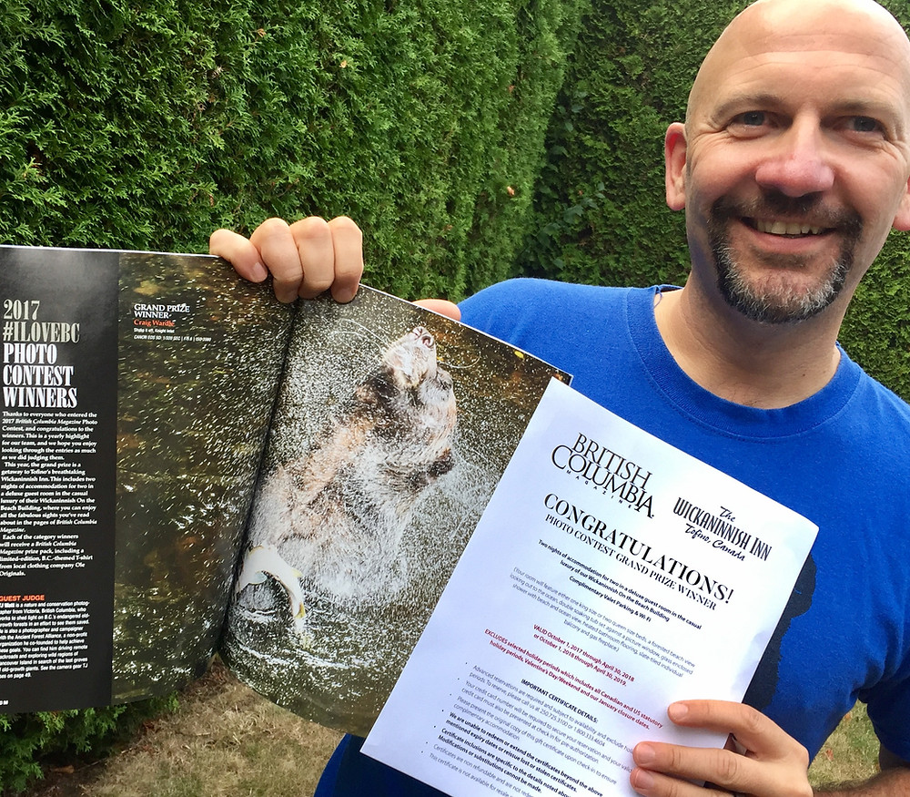 British Columbia Magazine 2018 photo contest winner Craig Wardle