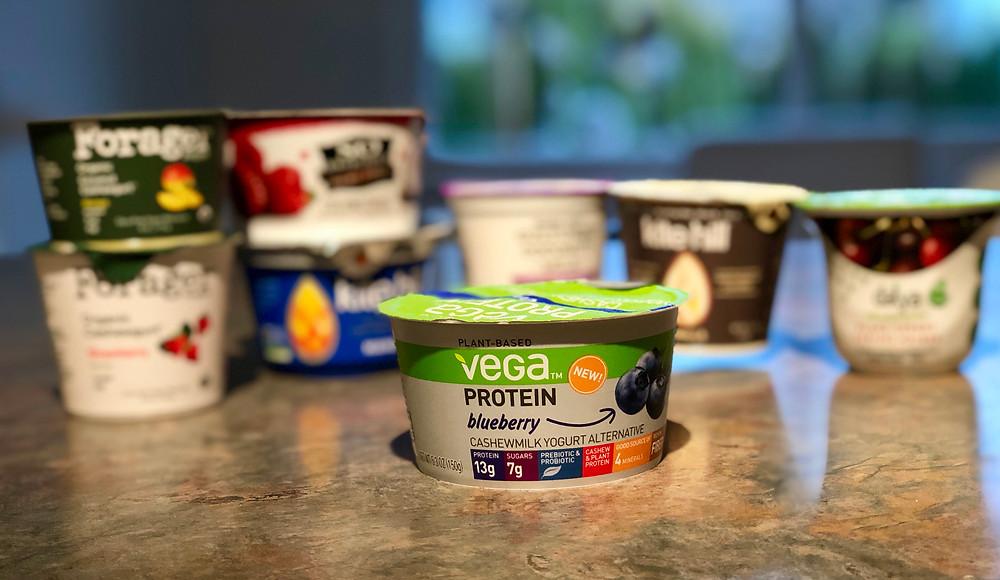 Vega Protein Cashewmilk Blueberry Yogurt Alternative