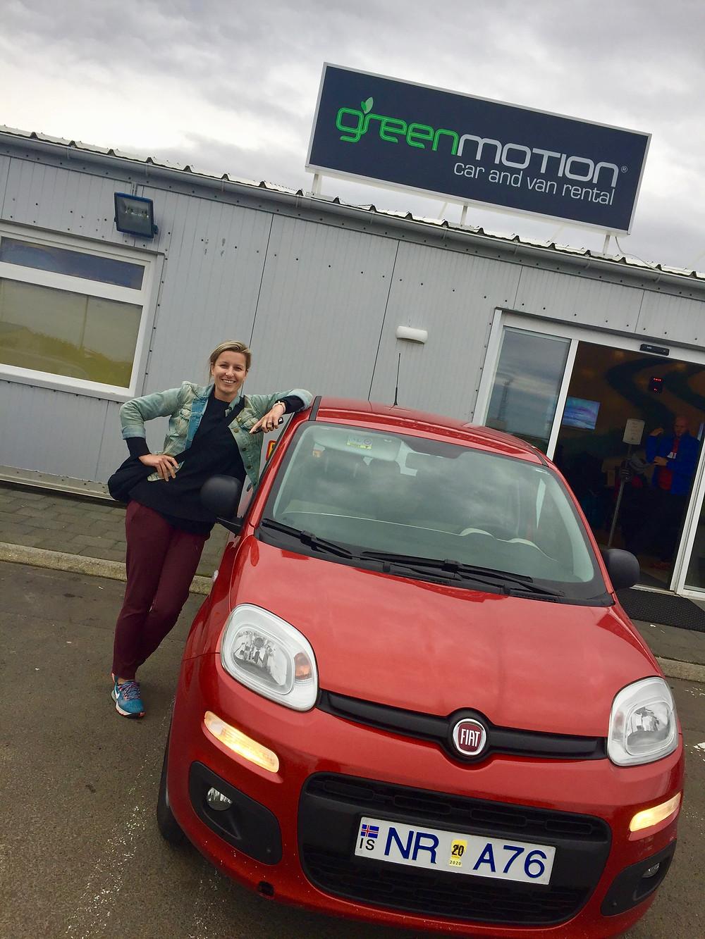 car rental, Iceland