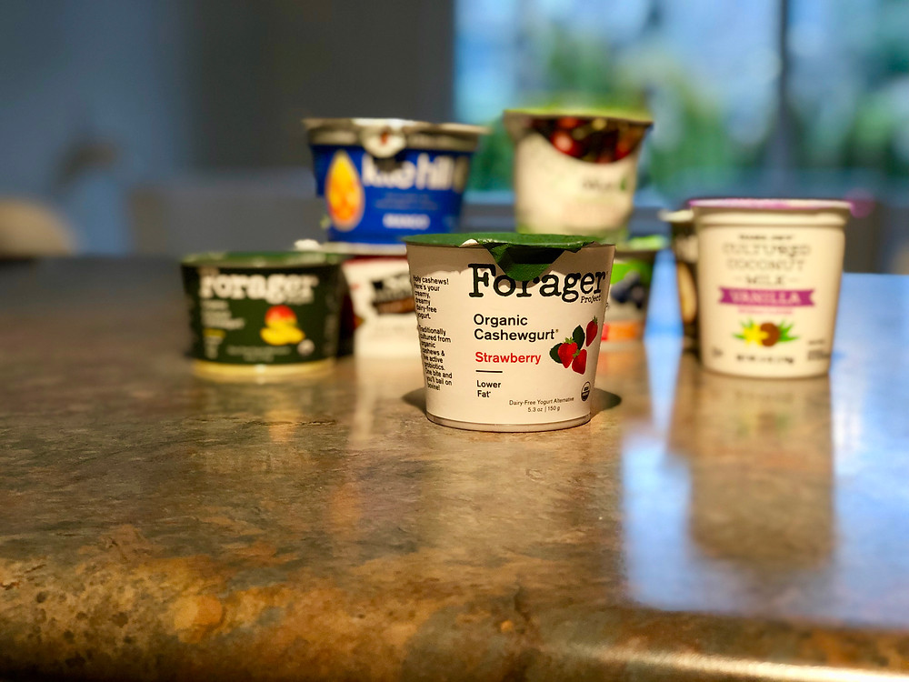 Forager Organic Cashewgurt yogurt