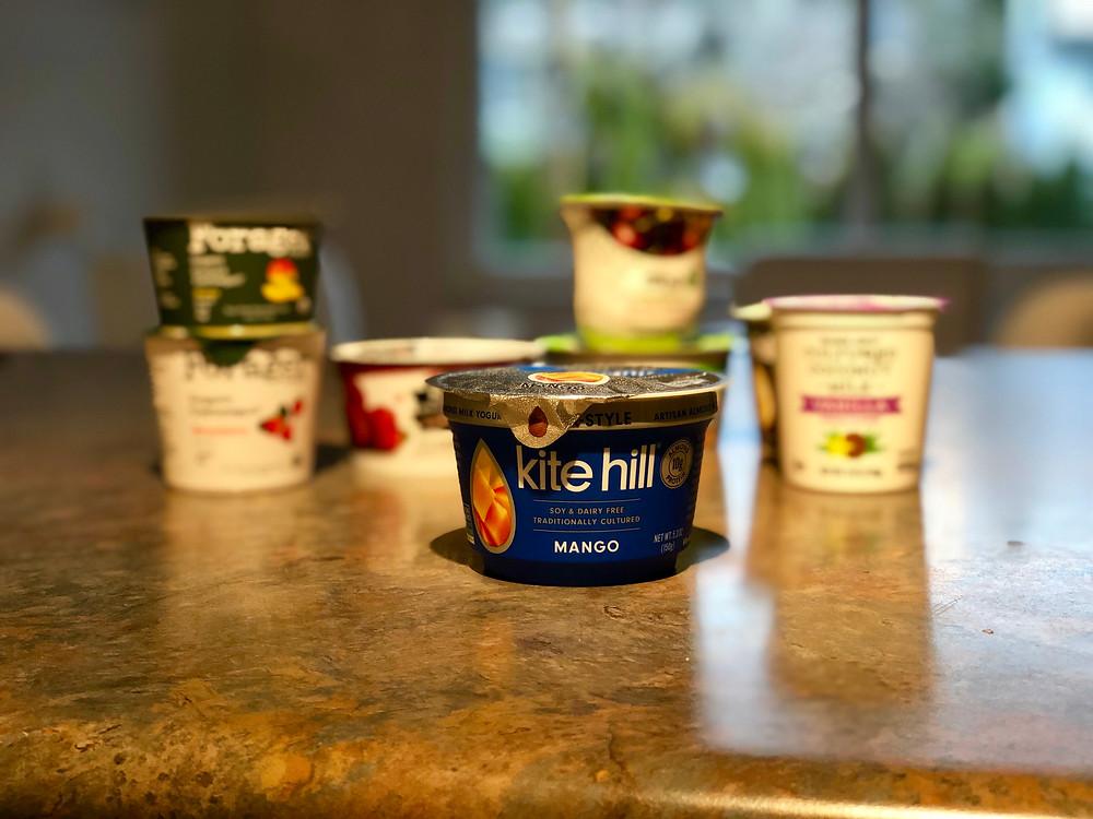 Kite Hill Greek Style Mango Yogurt