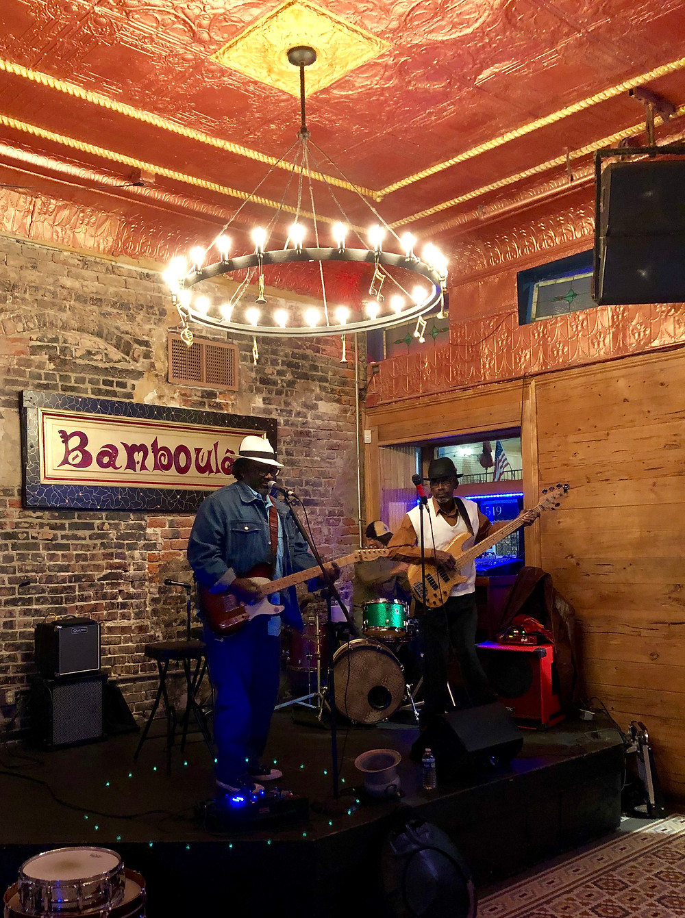 Bamboula's, Frenchman Street, jazz, bar, travel, New Orleans