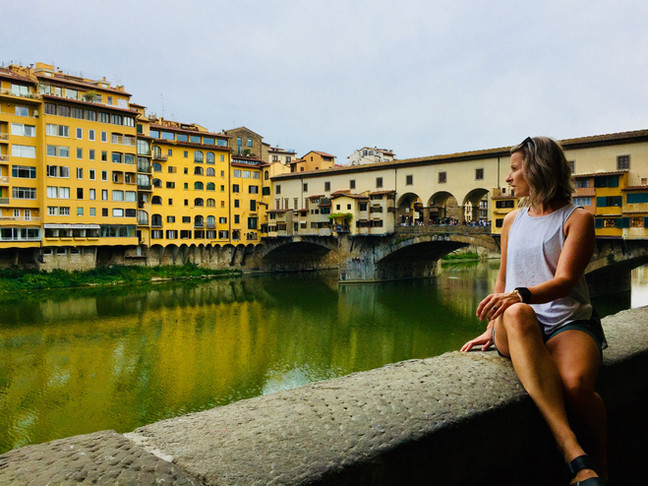 Soaking in Tuscany