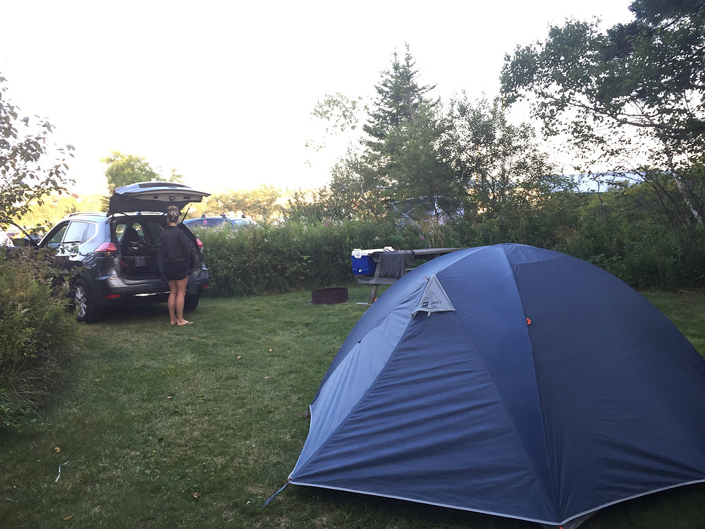camping, road trip, East Coast, St. John, New Brunswick, summer, Nissan, Rouge