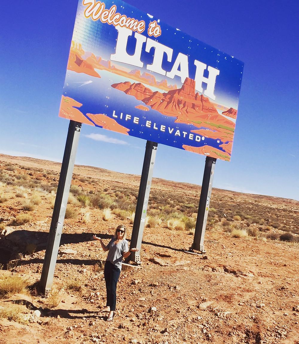 Utah, wrong turn, USA