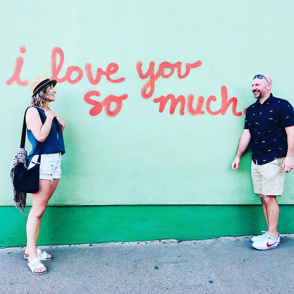 South Congress, Austin, Texas, wall art, mural, i love you so much, travel