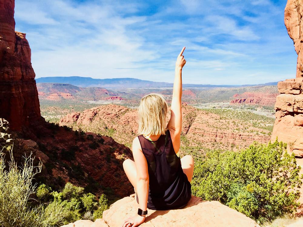 hike, cathedral rock, Sedona, travel, road trip, spring break, outdoors, Arizona