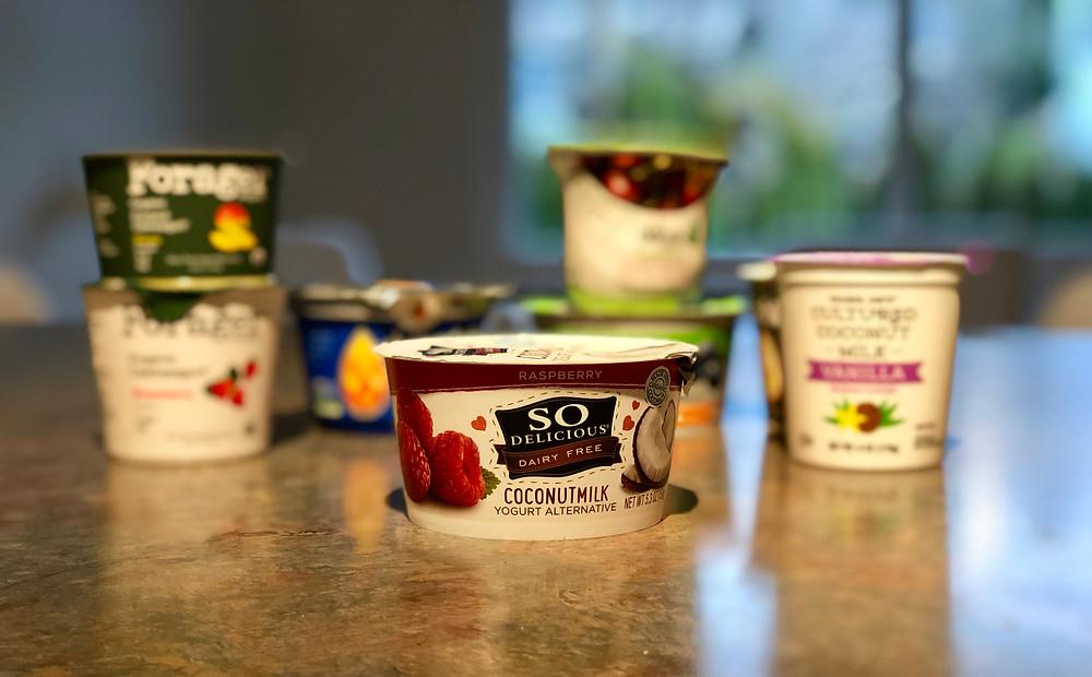 So Delicious Raspberry Coconutmilk Yogurt Alternative