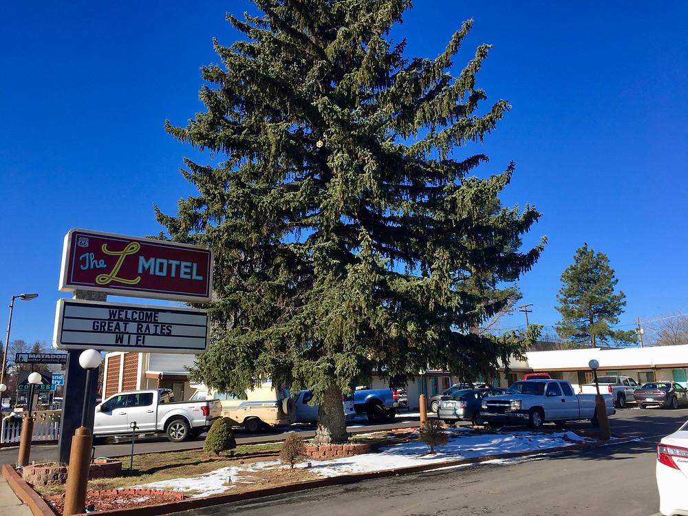 the L motel, flagstaff