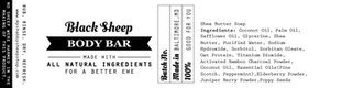 Soap Bar Label