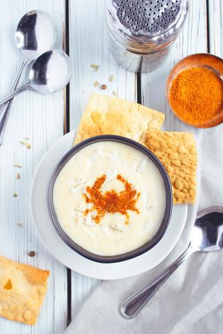 Cream of Crab Soup