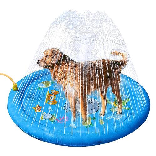 Water Splash Sprinkler Pad Outdoor Garden Toy