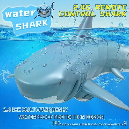 2.4G 4CH Remote Control Shark - Electronic Toy