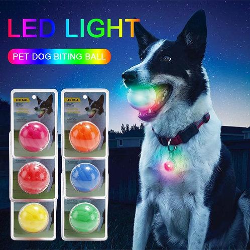 LED Luminous Colorful Transformation Effect Dog Ball