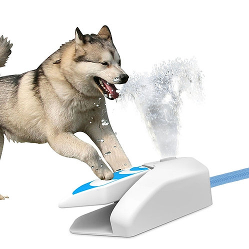 Automatic Dog Water Fountain w/Pedal Drinking Dispenser