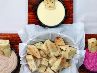Turkish Bread & Dips
