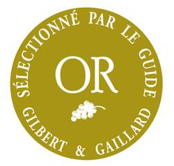 Medaille OR Gilbert Gaillard