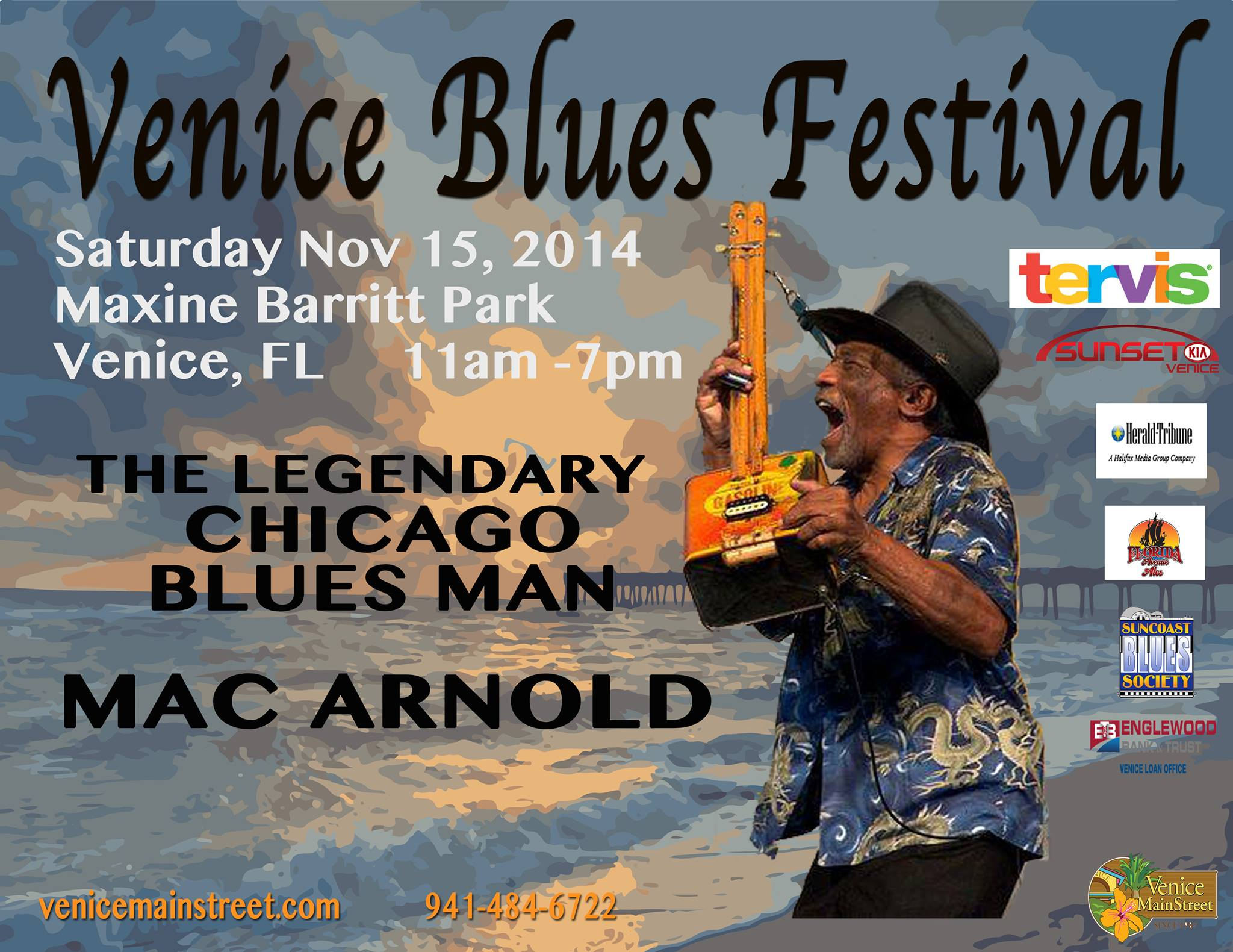 2014 - Venice Blues Festival, FL