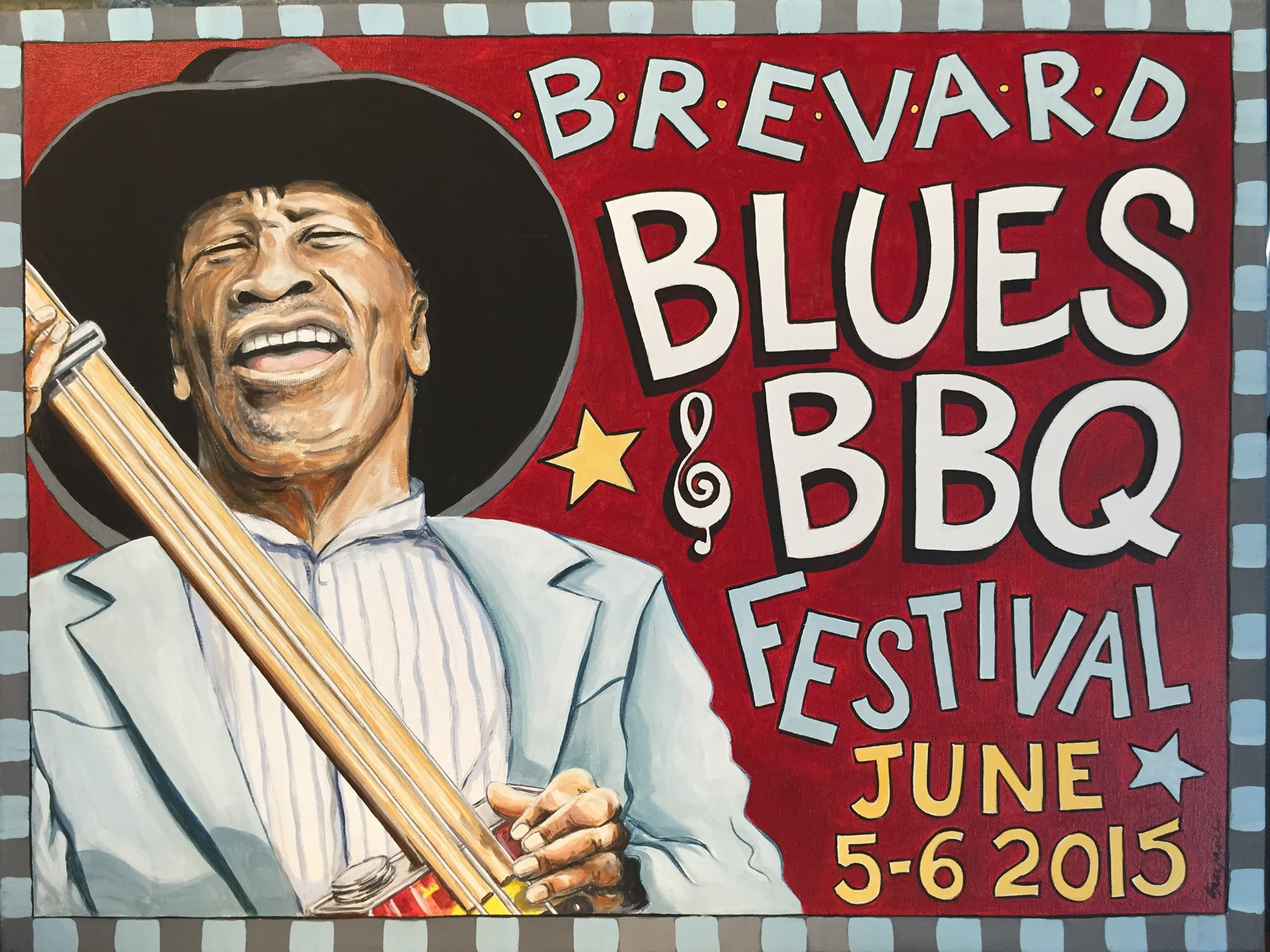 2015 - Brevard Blues Festival, NC