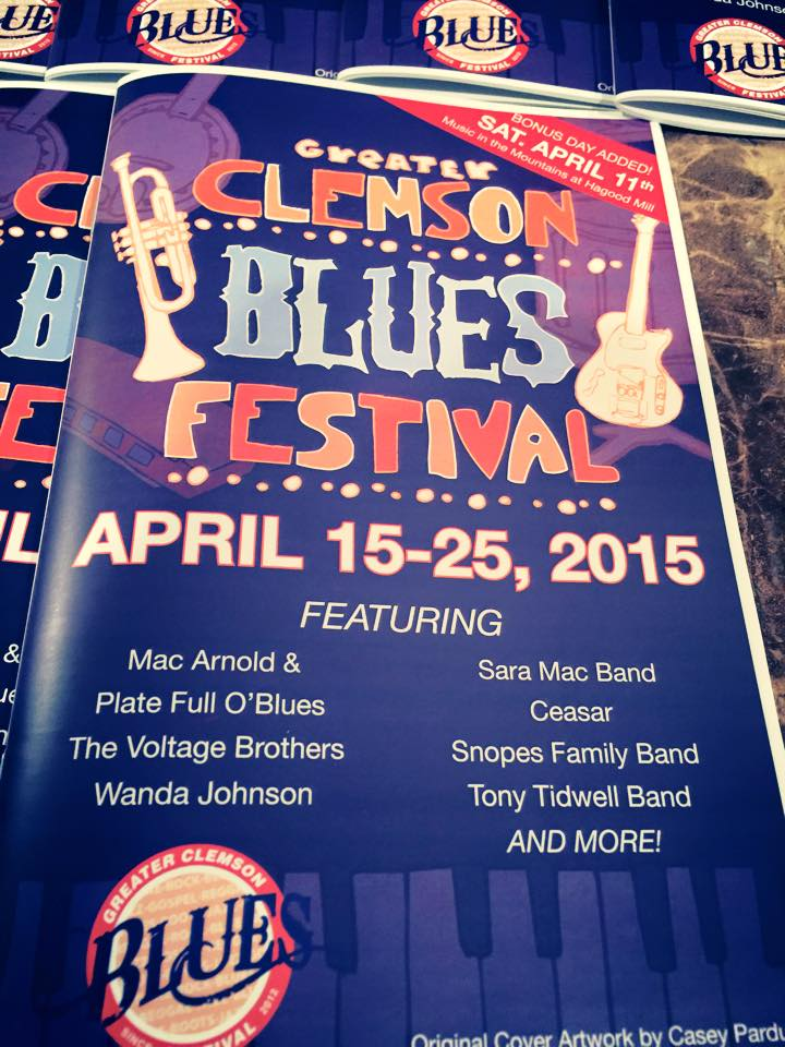2015 - Clemson Blues Festival