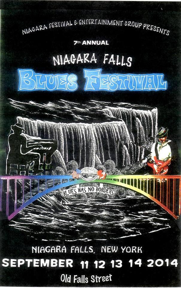 2014 - Niagara Falls Blues Festival