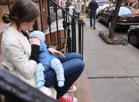 Nursing In Public: Stop Hiding In Your Home