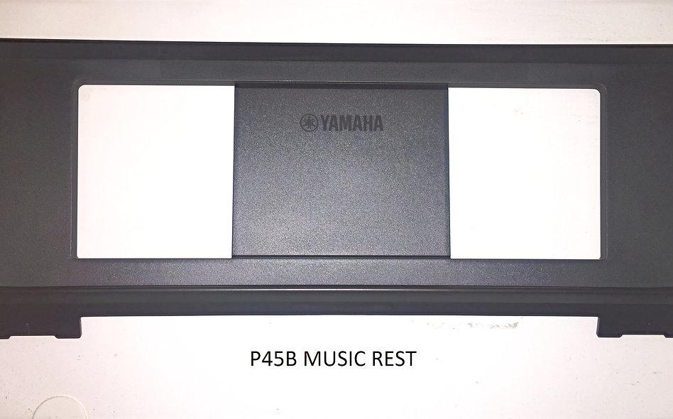 YAMAHA MUSIC REST ASSY, P45/35 (BLACK)