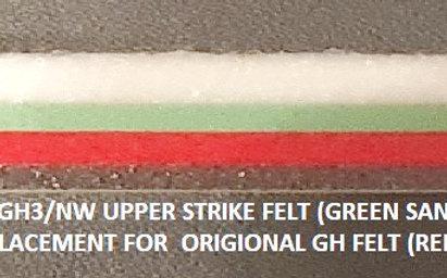 Upper Stopper Felt GH/GH3/NW type for Yamaha Clavinova.