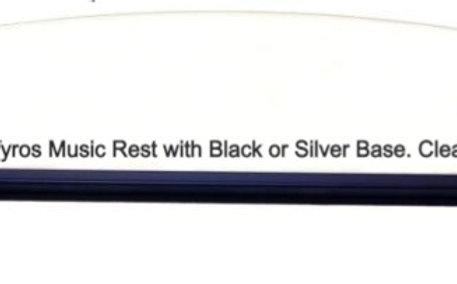 MUSIC REST (BLACK) P120/140/155/Tyros/Genos