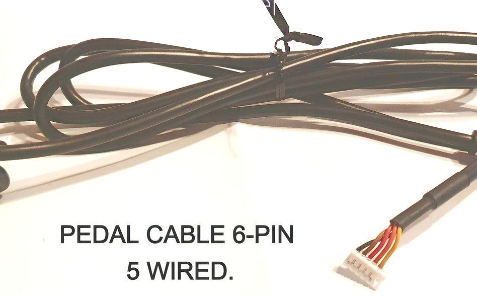 YAMAHA  Arius Pedal Cable Assy (Mini Din 6-5)