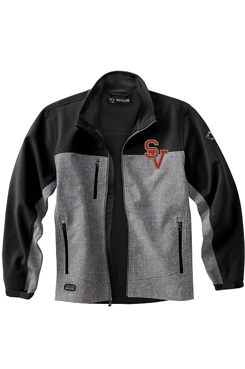 Soft Shell Embroidered Jacket (2X-4X)