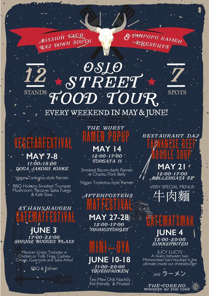 OSLO STREET FOOD TOUR