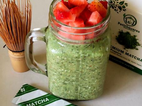 Matcha Overnight Oats Recipe
