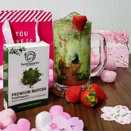 PetitBerry: Matcha+Strawberry (Milk Version)