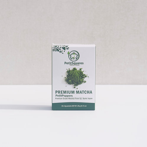 PetitPoppers - Premium Grade Matcha Powder