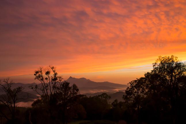 Mt Warning Sunset