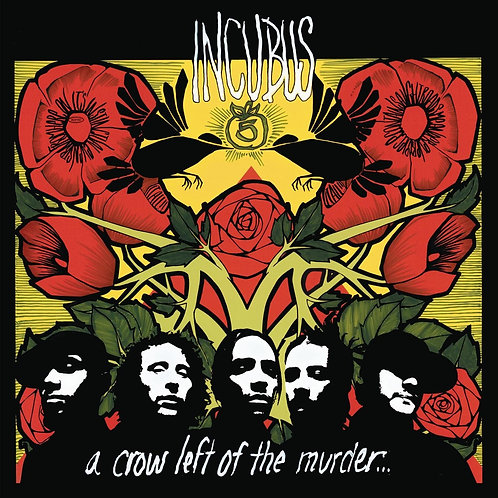 Incubus | A Crow Left of the Murder | Yellow 2LP | Limited to 2000 | Numbered