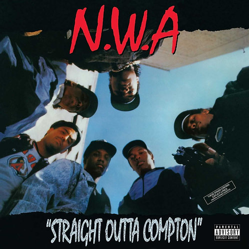 NWA | Straight Outta Compton | Red LP
