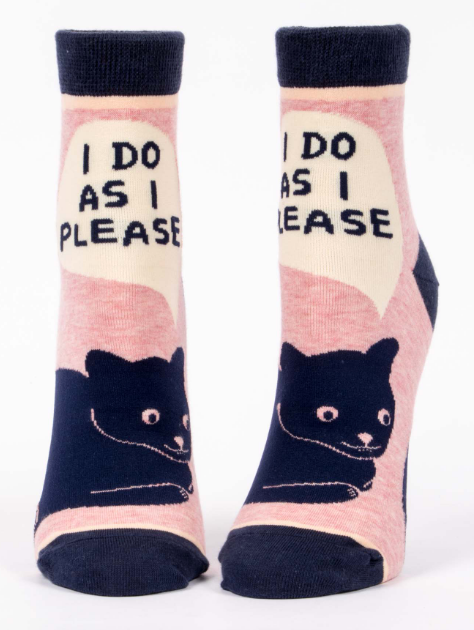 I Do As I Please | Women's Socks