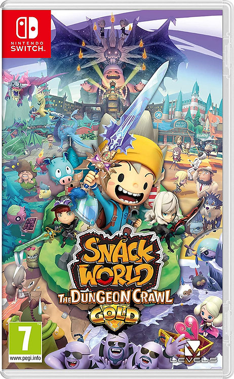 Snack World The Dungeon Crawl - Gold | Nintendo Switch