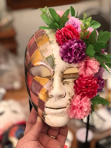 Personal request flowers mask