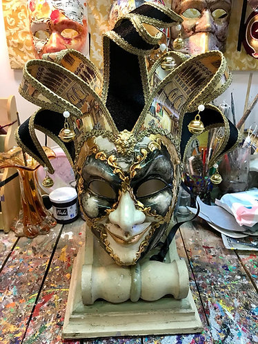 Joker Jolly Losanga Acquarello Oro/Nero