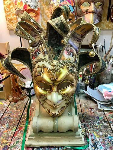 Joker Jolly Foglia Oro Venezia Verde