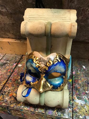 Arlecchino Acquerello Blu
