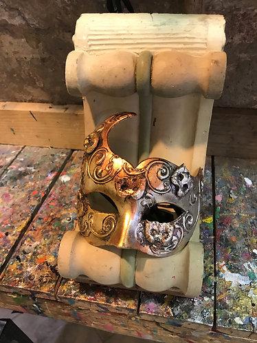 Colombina ciuffo oro argento bronzo