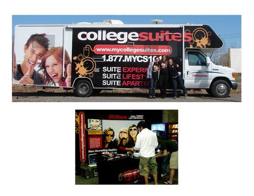College Suites Large Format Graphics
