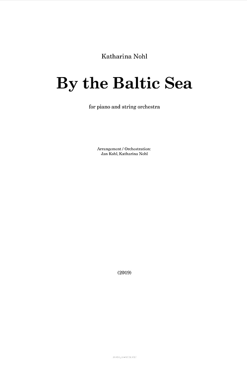 By the Baltic Sea - Piano and string orchestra