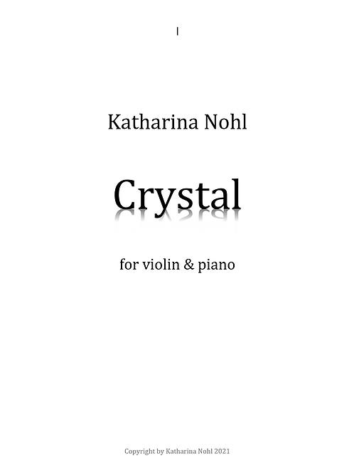 Crystal piano & violin