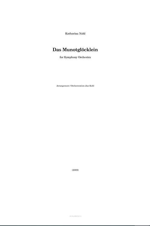Das Munotglöcklein Orchestration